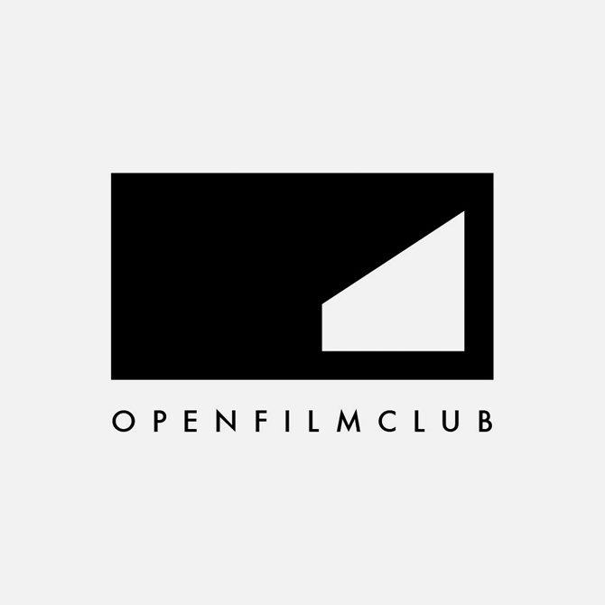 Proposed identity for charity organisation Open Film Club (now Open Cinema).