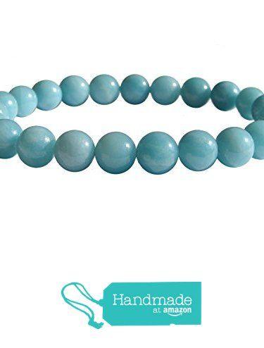 "ZENstore Amazonite A quality Healing Bracelet Natural Gemstones size 0.3"" 8mm Throat Chakra Communication Self-expression Calm from ZENstore https://www.amazon.com/dp/B075YSKT66/ref=hnd_sw_r_pi_dp_Og8YzbHD85FBQ #handmadeatamazon"