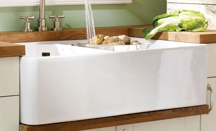 Double bowl Butler sink