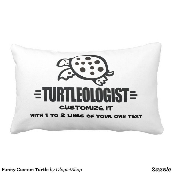 Funny Custom Turtle