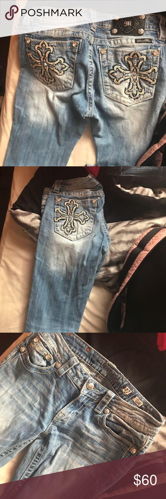 Miss me skinny jeans Light wash Miss me skinny jeans Size 27 Miss Me Jeans Skinny