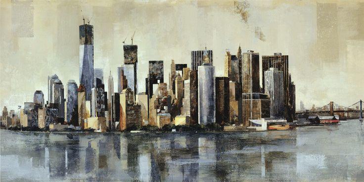 New York From Afar by Marti Bofarull