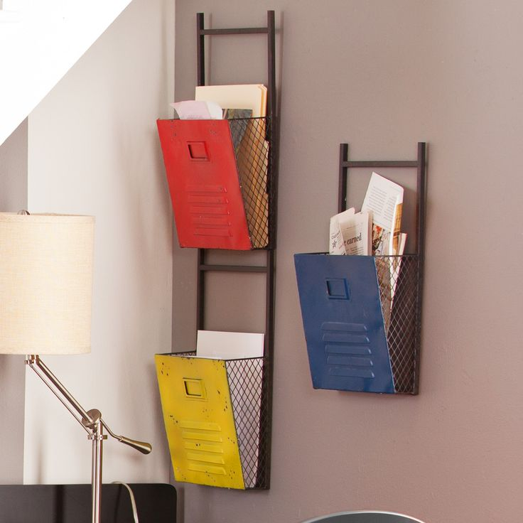 holly u0026 martin houtes 3 piece wall file holders