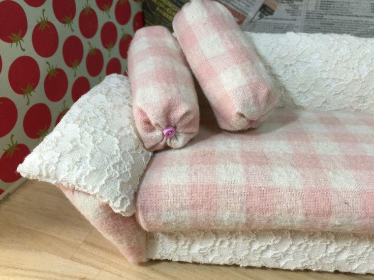 ワイドソファー 売れました。|カズミンブログ ドール用ベッド&ソファー・・他いろいろ♡
