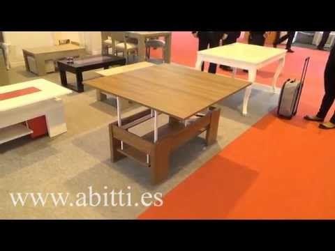 Descatalogado - Mesa de centro convertible a mesa comedor - salon. Ref. PIN 22420 - YouTube