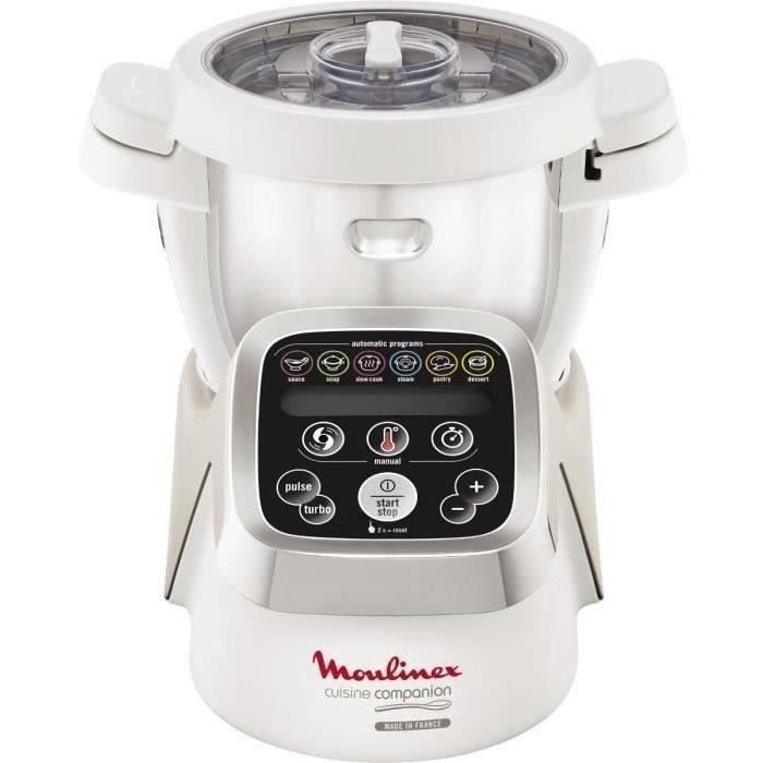 Moulinex Hf800a10 Robot Cuiseur Companion 4 5 L Blanc In 2020 Coffee Maker Kitchen Rice Cooker