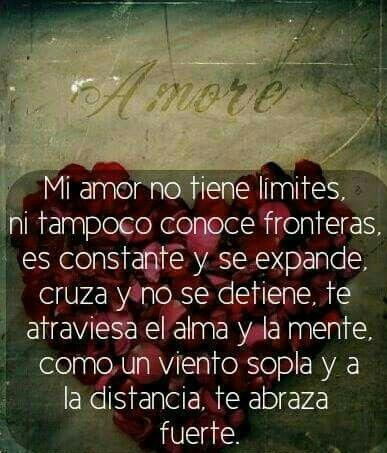 Amor Sin Limites Ni Distancias Frases Y Pensamientos