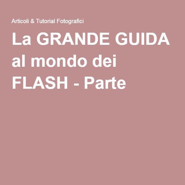La GRANDE GUIDA al mondo dei FLASH - Parte 1