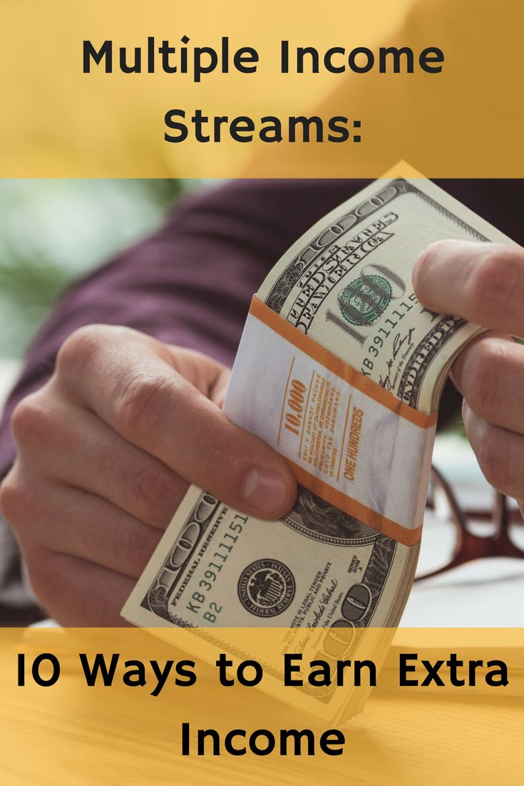 Multiple Income Streams: 10 Ways to Earn Extra Income - http://www.doughroller.net/earn-extra-income/multiple-streams-income-move-closer-financial-freedom/?utm_campaign=coschedule&utm_source=pinterest&utm_medium=DoughRoller.net&utm_content=Multiple%20Income%20Streams%3A%2010%20Ways%20to%20Earn%20Extra%20Income