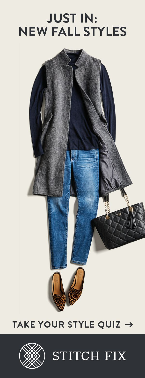 Looking for that perfect statement piece to pull your fall wardrobe  together? Your Stitch Fix