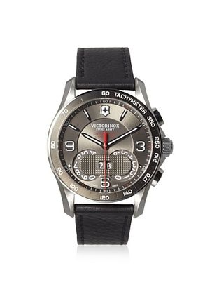 32% OFF Victorinox Men's 241616 Chrono Classic Black Stainless Steel Watch