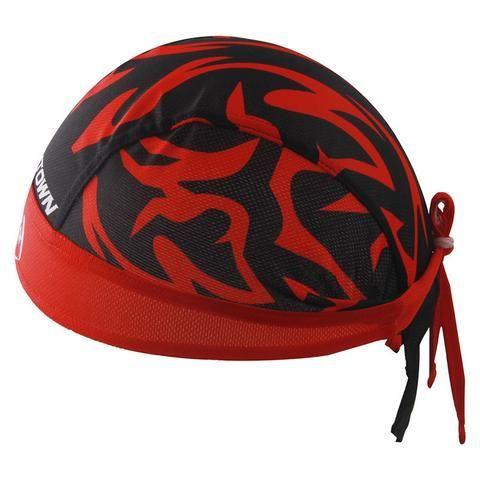 Red Tribal Cycling Bicycle Bike Scarf #Cycling #CyclingGear #Cycling Accessories #CyclingScarf #BicycleScarf #BikeScarf