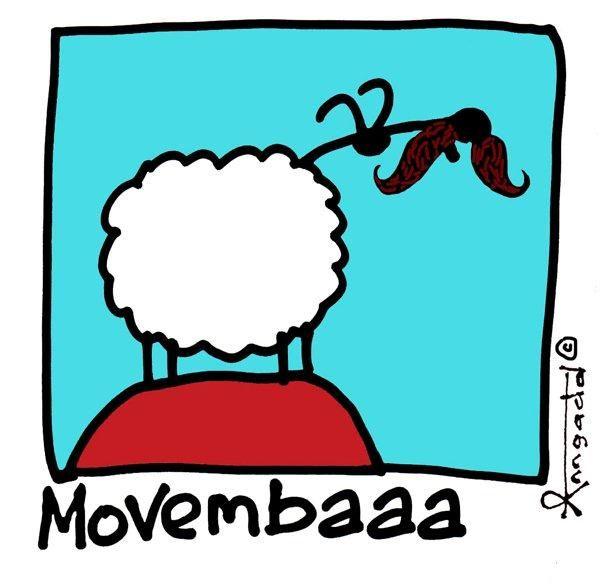 """Movembaaa"" by Ann Gadd"