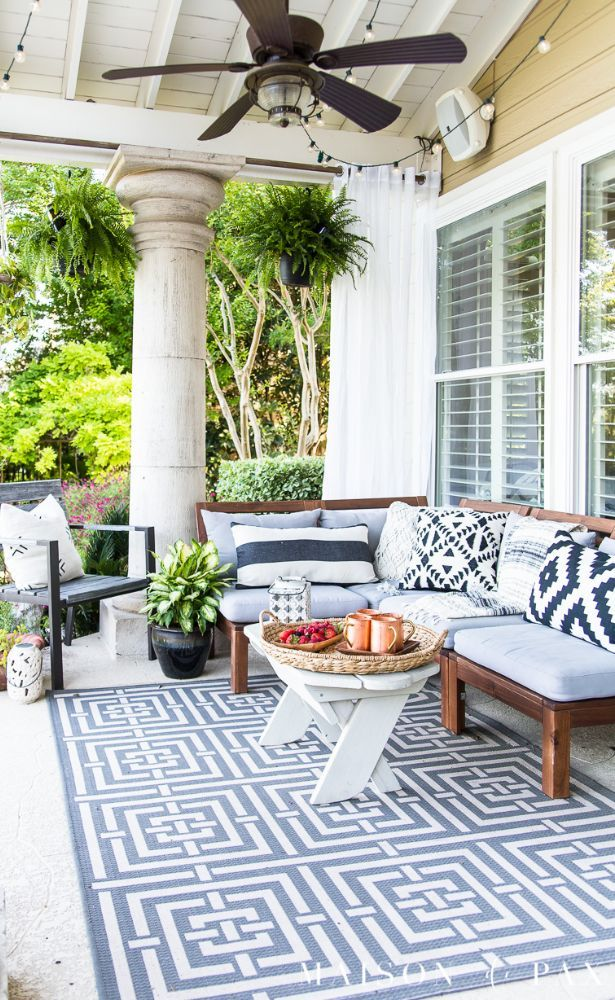 62 Best Patio Furniture And Ideas Images In 2020 Page 26 Of 62 Summer Outdoor Decor Summer Patio Summer Porch Decor