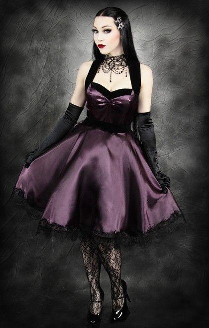 Restyle purple dress