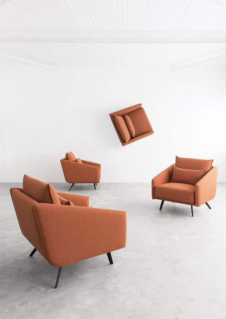STUA Costura sofa collection includes the armchair. Beautiful from any angle. A Jon Gasca design. COSTURA: www.stua.com/design/costura