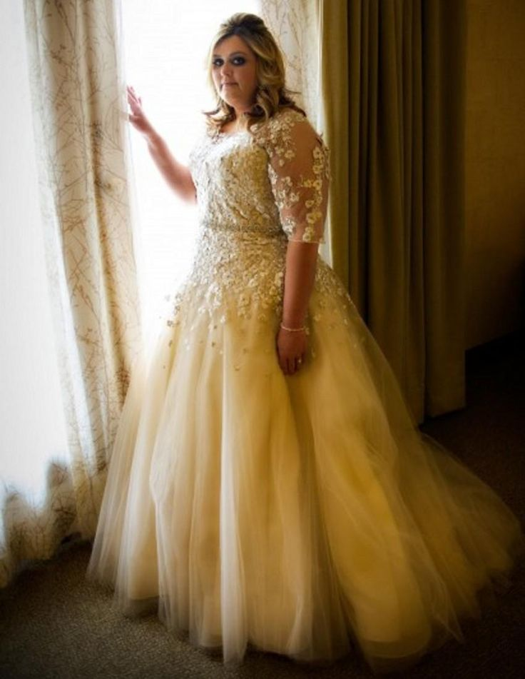 181 Best Plus Size Wedding And Bridesmaid Gowns Images On Pinterest
