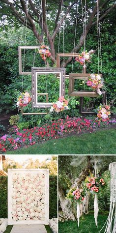 17 mejores ideas sobre decoraciones de boda de patio en for Arboles florales para jardin
