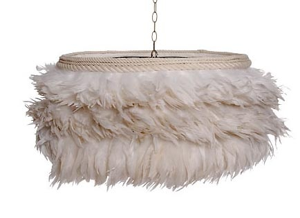 17 best feather lamp shade ideas images on pinterest feather lamp feather lamp shade aloadofball Image collections