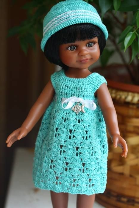 Морские мечты. Куклы Paola Reina 32 см / Paola Reina, Antonio Juan и другие испанские куклы / Бэйбики. Куклы фото. Одежда для кукол