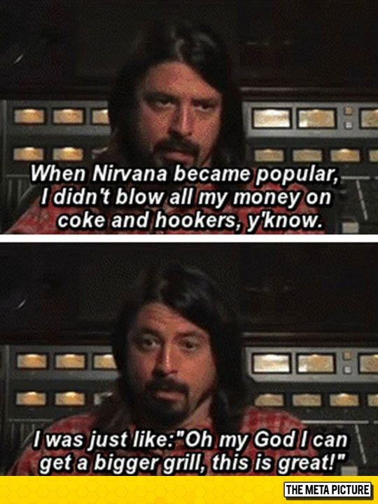 Priorities, Courtesy Of Dave Grohl