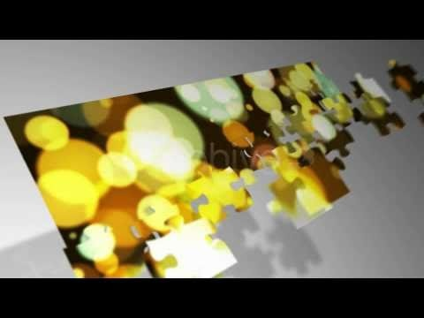 The Puzzler - After Effects Jigsaw Template - YouTube