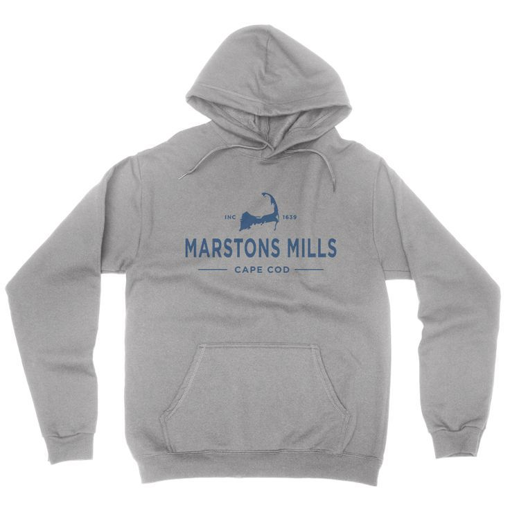 Marstons Mills Cape Cod Hoodie Sweatshirt  | Get your own Cape Cod Town T-shirt at capecodinsta.com Wear your town! @capecodinsta
