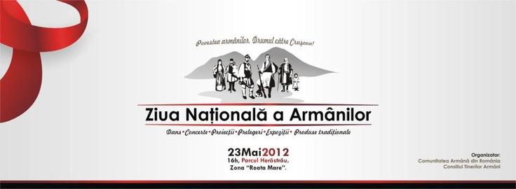 Vă așteptăm în perioada 21-23 mai, în Herăstrău, la Roata Mare, să simțiți armânește :)