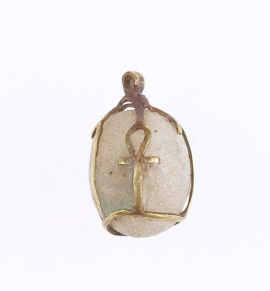 Amulet with ankhs Period: Middle Kingdom Dynasty: Dynasty 12–13 Date: ca. 1981–1640 B.C. Geography: From Egypt