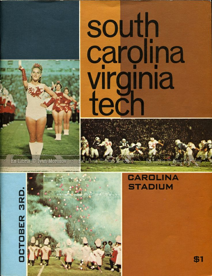 136 best Virginia Tech Football Game Programs images on ...