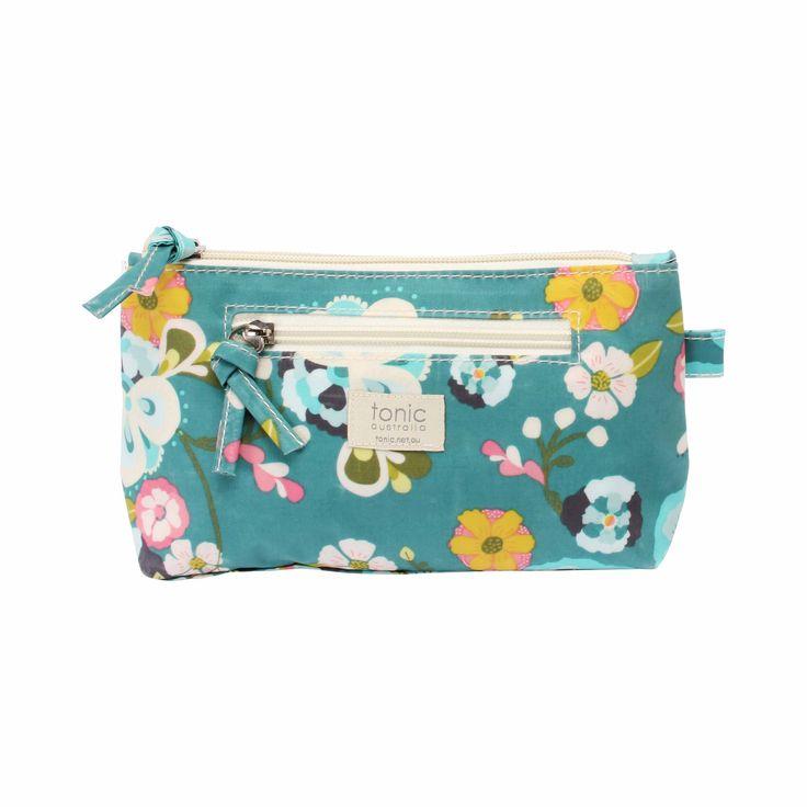 Jade Garden Small Cosmetics Bag #cosmetics #bag #travel