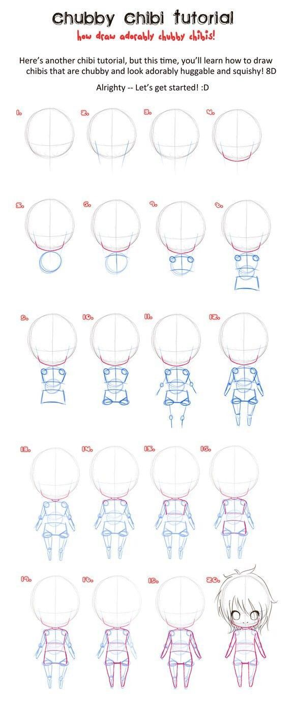 How To Draw #chibi
