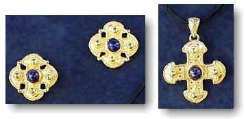 Joyeria de Oro Etrusca - aretes de oro
