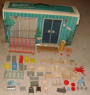 1960s barbie dream house and furniture barbie and ken for Dream house days furniture