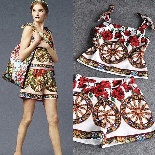 CS8036 Oriental Roses Print Sets