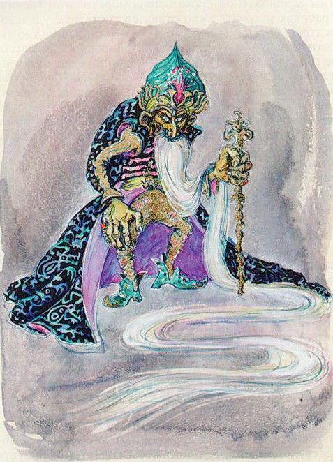 Былинно - сказочный мир Александра Птушко - Ольги Кручининой. Часть 2.: la_gatta_ciara