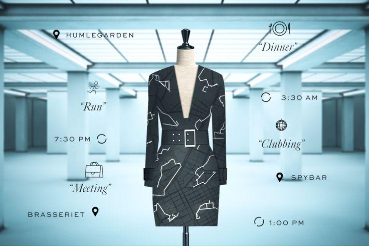 Google en H&M werken samen om een jurk samen te stellen naar je persoonlijke wensen via je persoonlijke data.