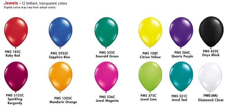 Jewel tone colors color chart arches balloon decor - What are jewel tones ...