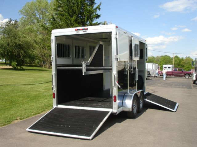 This trailer is probably out of my range, but Eclipse who makes this trailer also has a less expensive 2 horse slant load bumper pull for a lot less. Click on the picture and it will take you to a page with a video that gives some good ideas of what to look for in a trailer. Horse Trailer Trader: 2011 Eclipse Aluminum Trailers 2 Horse Side and Rear Ramp New Horse Trailer in PA at R. Stang Performance Horses and Trailer Sales