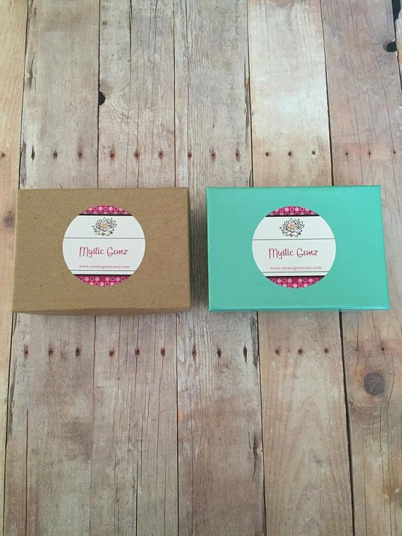 Jewelry Gift Box - Teal Kraft Gift Boxes - Brown Kraft Gift Box - Cotton Filled Box - Jewelry Boxes - Packaging - Favor Boxes - 3.25 x 2.25