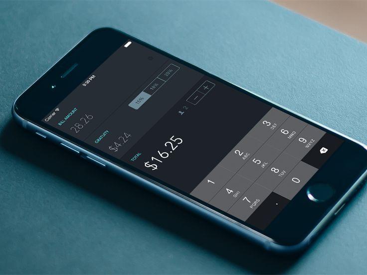 Tipsy: Tip Calculator App - by Patrick Wong | #ui
