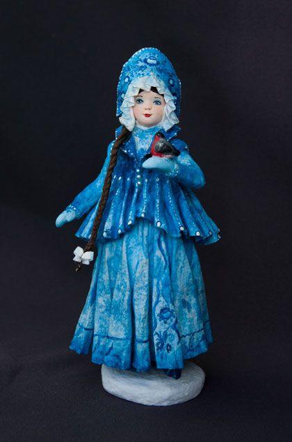 «Снегурочка»Проект новогодних кукол и игрушек «ЗИМНИЕ ЗАБАВЫ» Елена Мисюна и Елена Золотова