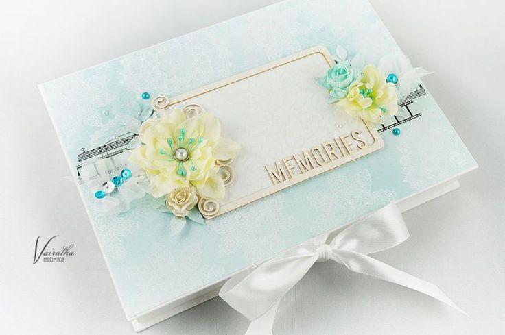 Pudełko na zdjęcia – Pudełka ślubne - kolor: jasnożółty, zielononiebieski, turkusowy, wymiary: 17,5*24,5cm głębokość 3cm – Artillo