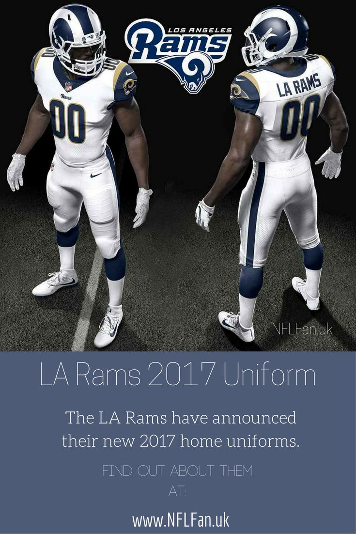 LA Rams have new uniforms for the 2017 NFL season. Have a look and read here.