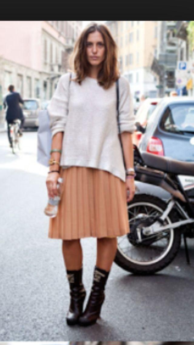 Midi skirt casual