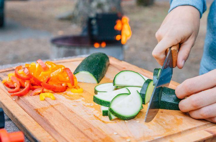 Vegetarian Camping Food
