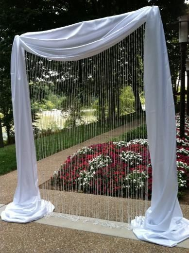 bling crystal ceremony Wedding aisle flower décor, wedding ceremony flowers, pew flowers, wedding flowers, add pic source on comment and we will update it. www.myfloweraffair.com can create this beautiful wedding flower look.