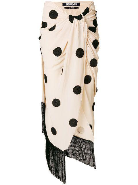 003ec5e9e Comprar Jacquemus falda con diseño de lunares   CLOSET en 2019 ...
