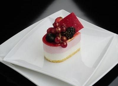 Mousse alla fragola e panna cotta