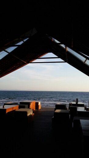 Lounge at the chandi, senggigi beach - Lombok, Indonesia